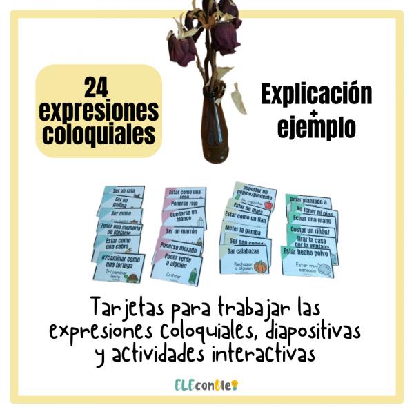 expresiones coloquiales español