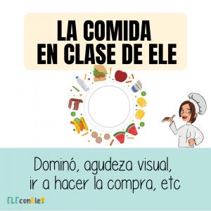 comida en clase de ELE