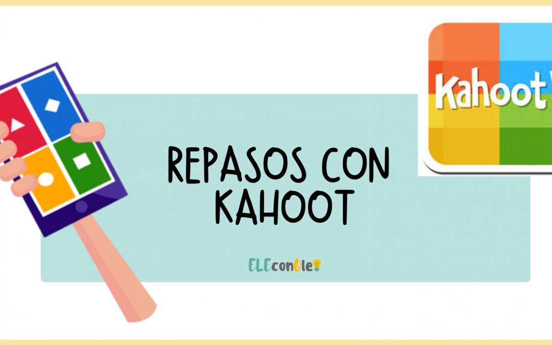 Kahoot para clase de ELE (repasos)